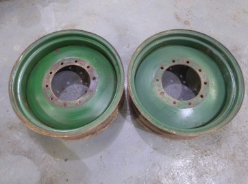 Field Marshall rear wheels
