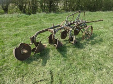 Ransome 3 Furrow Plough