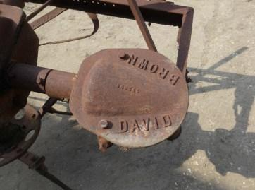 David Brown Potato Spinner
