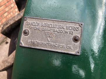 Field Marshall Series 2 Contractor