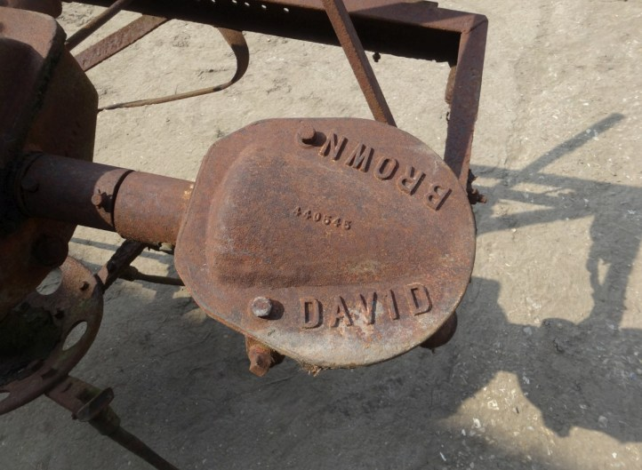 David Brown Potato Spinner